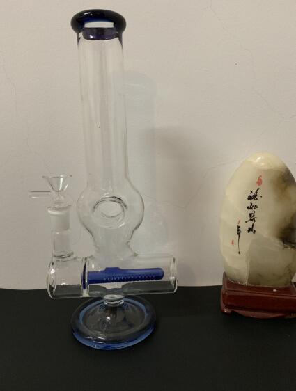 Glass Beaker Dab Rig Bong Heady Bongs Mini Water pipe Thick oil rigs wax smoking hookah Bowl bubbler honeycomb pipes