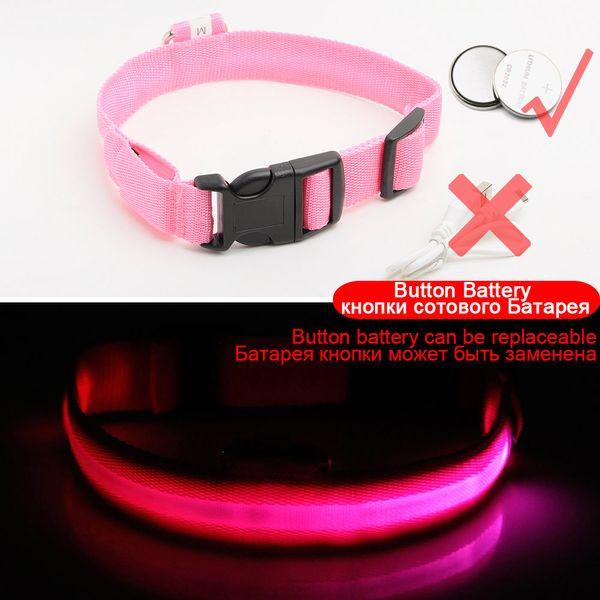 Pink Button Battery