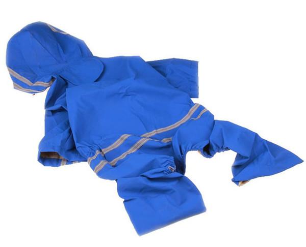1PCS Rain Poncho for Pet Dog Fashion Large Dog Raincoats Lightweight Poncho Rainwear Clothes Pet Waterproof Jacket 4 Colors 5 Sizes