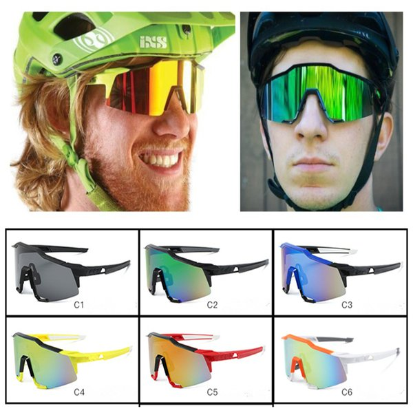 New Arrival brand Wind glasses Men's Sunglasses New Color SPORT Sunglasses Driving cycling Motorcycle glasses 6colors LE345