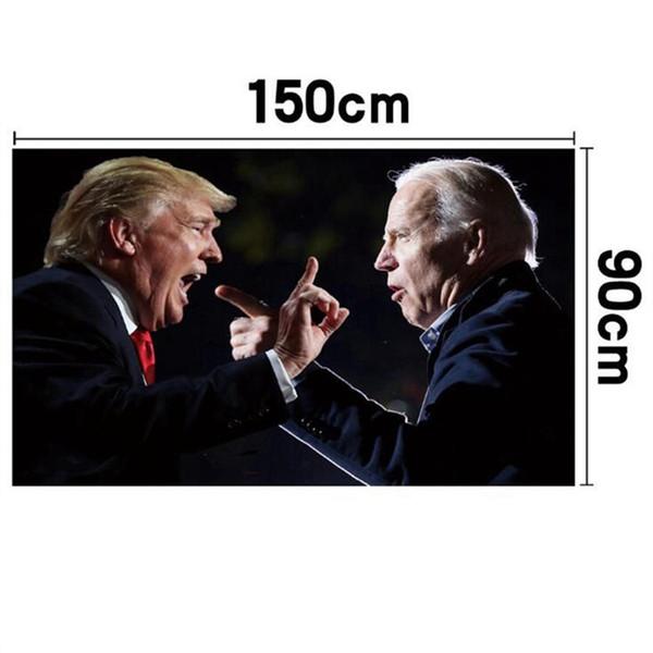 top popular 18 style Trump Flag 90*150cm Biden USA flags Keep America Great President Donald trump Election Banner flag JJ407 2021