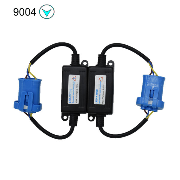 top popular ECAHAYAKU H3 9005 9006 H1 H11 H4 H7 LED Canbus Car Headlight Decoder Wiring Adapter DRL LED Lamp Error Canceler Fog Light Canbus 2021