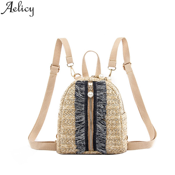 Women Small Bag Fashion Backpack Wild Student Backpack Leisure Travel Bag