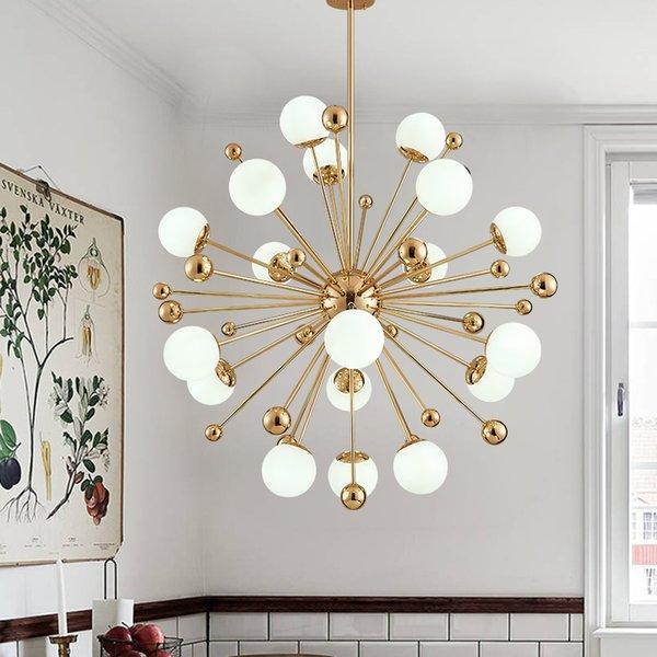 AC 100-240V Glass Led pendant Lamp Modern Design Chandelier Ceiling Living Room Bedroom Dining Room Light Fixtures Decor Home Lighting G4