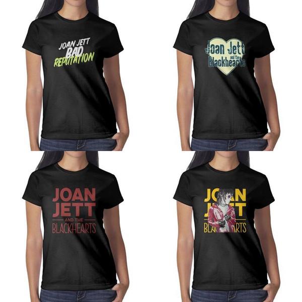 Joan jett Unvarnished siyah bayan tişörtlerin gömlek tasarım bağbozumu süper kahraman şampiyonu klasik t bana ulaşmak istediğiniz Joan Jett