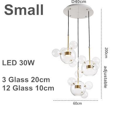 3 lampade 20cm B