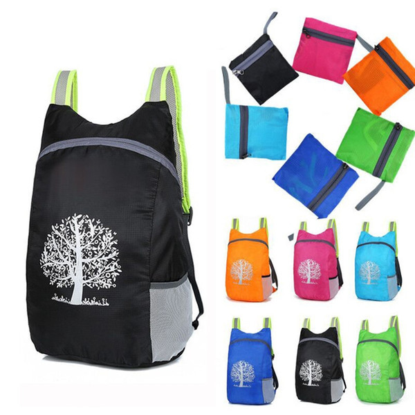 New high quality Durable Waterproof Folding Packable Lightweight Outdoor Travel Hiking Backpack Daypack Portable comfortable 30