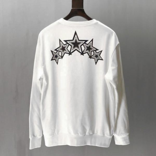 Suéteres de hombre T Suéter de diseñador AMIRI AMIRI Color degradado de alta calidad Estrella de cinco puntas Casual Sports tops