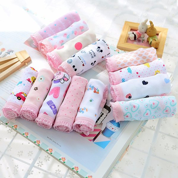 Fashion New Baby Girls Underwear Cotton Panties For Girls Kids Short Briefs Children Underpants