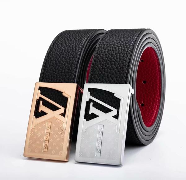 Brand Design Belts Unisex Jeans Leather Waist Straps Luxury Mens Smooth Buckle Waistbands Hot Fashion Womens Skirt Belt
