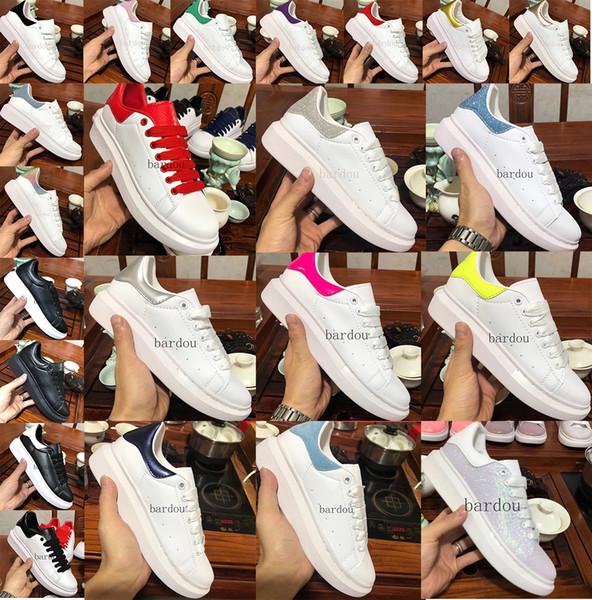2019 Platform Classic Freizeitschuhe Skateboard Schuhe Herren Designer Schuhe Damen Velvet Heelback Tennis Chaussures Zapatos Farben Größe 36-45