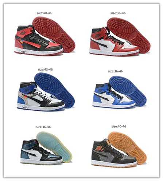 Scarpe Da Calcio 2019 Nuovo Arriva Jumpman 1 Satin Shattered Backboard Rookie Year Leonard Mens Scarpe Da Basket Più Fashion 1s Sport Sneakers Taglia