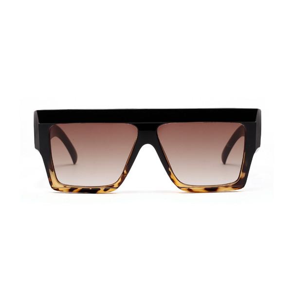 2018 sexy occhiali da sole pilota oversize tonalità delle donne retro designer di marca leoaprd occhiali da sole per le signore femminili occhiali neri fml