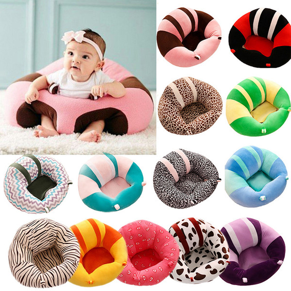 Support Seat Sofa Baby Learning To Sit Chair Travel Car Seat Pillow Cushion 1D