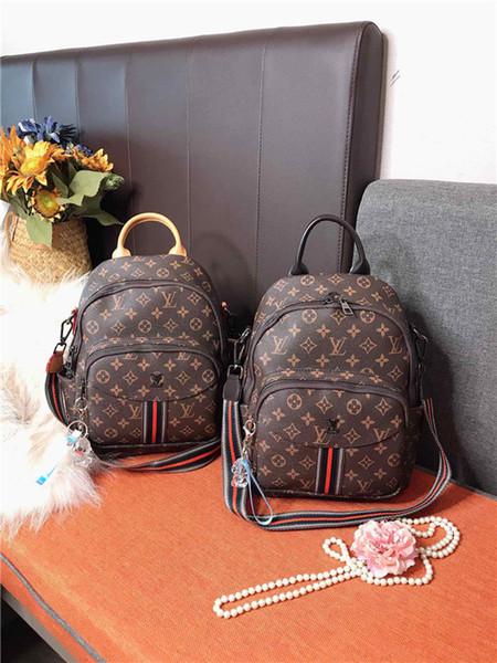 20ss Luxurious Brands listras monograma Design Corda Backpack Clutch sacos de moda ombro Homens Mulheres Viagem Duffel Dia Packs bolsas externas