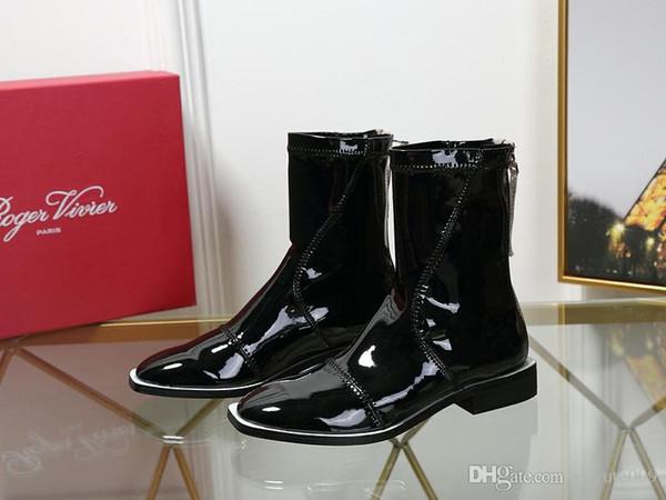 AQ 3 modello pattini delle donne Lussi tacchi alti aprono in vera pelle stivali impermeabili per donna stile di colore puro, vari fibbia e borse