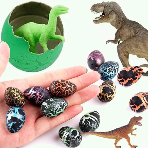 60PCS Dinosaur Eggs Action Figure Add Water Cracks Grow Growing Egg Hatching Growing Kids Education Toy AIJILE