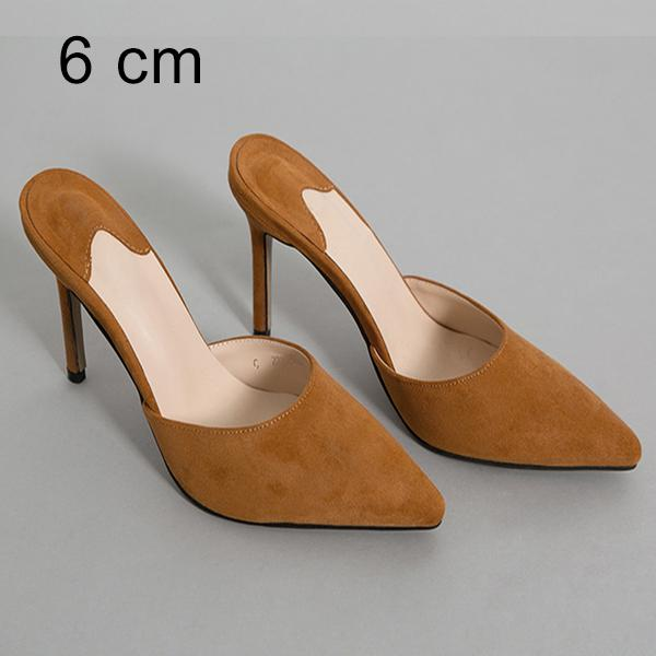 Khaki 6 centimetri Pantofole