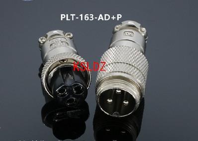 Бесплатная доставка лот (2 шт./лот)оригинальный новый PLT APEX PLT-163-AD+P PLT-163-AD-R PLT-163-P-R 3pins авиационный штекер и разъем