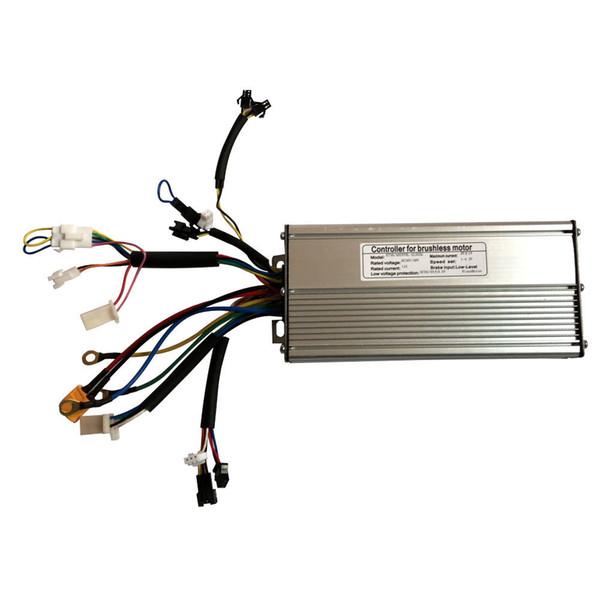 Vélo 48V 1000W Vélo Électrique Contrôleur Brushless Sine wave Capteur De Hall KT Série Support LED LCD 12 Mosfet