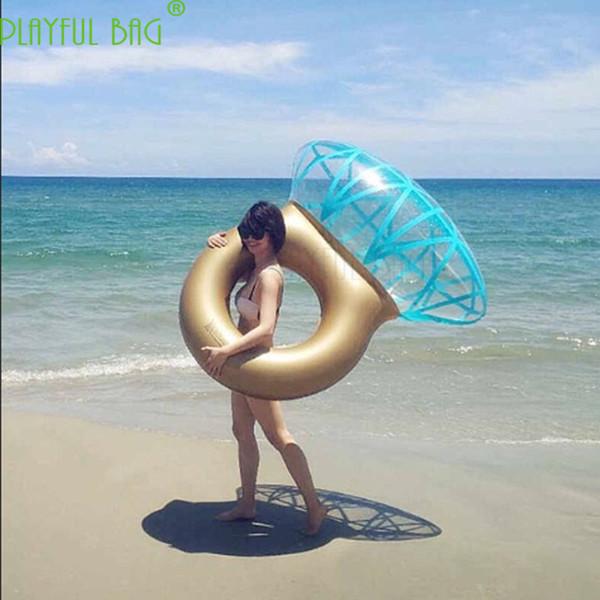 140X120 sport acquatici romantici partito o spiaggia nuotano cerchio gonfiabile anello di nuoto anello adulto galleggiante letto
