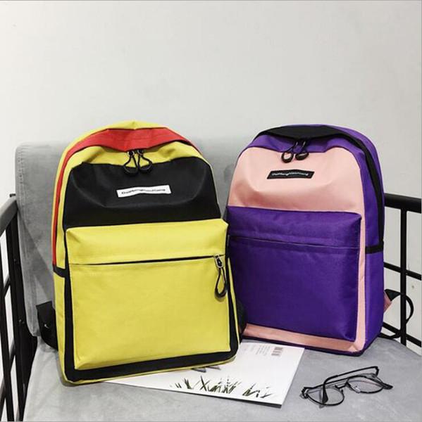 2019 marka moda lüks tasarımcı çantaları Tuval sırt çantası bayanlar için yeni tiki moda torbasını monogrammed