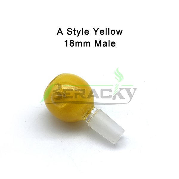 A- 18mm Male Yellow