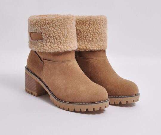 Free shipping autumn and winter new Europe and America Large size low boots and velvet warm large size thick with casual students fla1