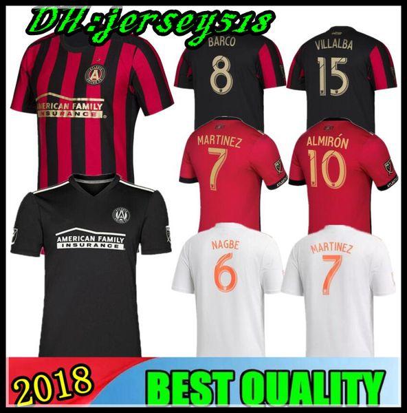 Top Thai quality 19 20 Atlanta United soccer jersey 2018 2019 GARZA JONES VILLALBA MCCANN MARTINEZ ALMIRON FC Atlanta football shirt