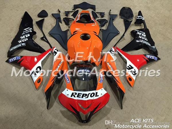ACE KITS Motorradverkleidung für HONDA CBR600RR F5 2007-2008 Injektions- oder Kompressionskarosserie Alle Arten von Farbe Nr. 3508