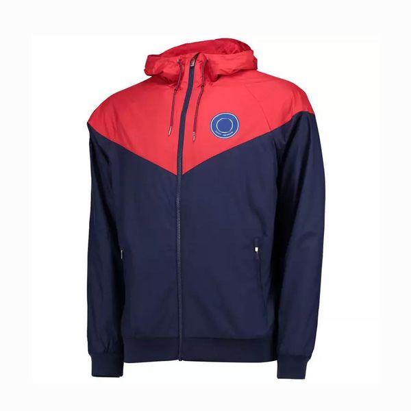 2019 Yeni Tasarımcı Erkekler Kadınlar WINDBREAKER Futbol Kulübü Takımı Ceketler Spor Coats Moda Fermuar Spor Kapüşonlular Dış Giyim CE98265