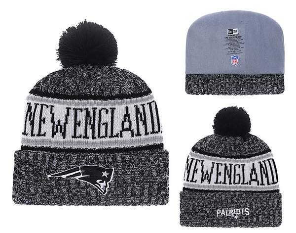 96f3ba321 2019 Men'S New England Patriots New Navy 2018 Sideline Cold Weather  Official Sport Sideline Cold Weather Official TD Knit Hat 02 From Pc0002,  $7.04 | ...