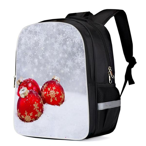 Feliz Natal Tactical Mochilas Computador Mochila Ao Ar Livre Mochila Laptop Sports Mochila Saco Bookbags