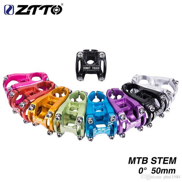 MTB Mountain road bike stems 31.8*50mm Aluminium bar stem red//black//purple