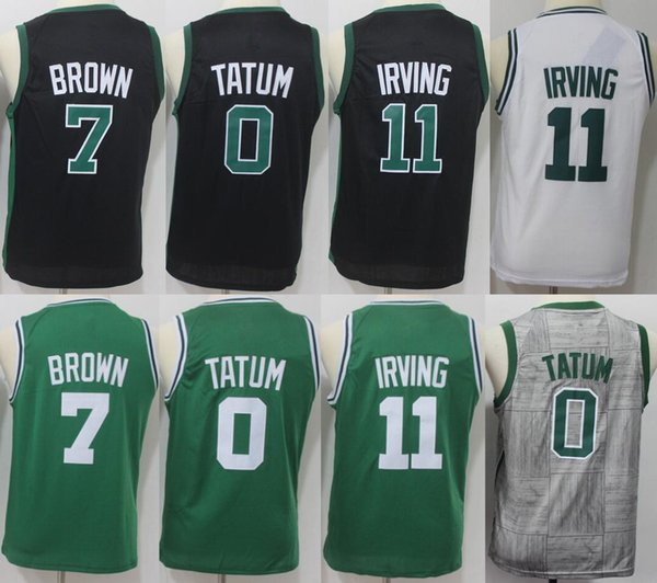 quality design 21f4d a9906 2019 Youth Celtics Jerseys 0 Jayson Tatum Boston 11 Kyrie Irving 33 Larry  Bird 42 Al Horford 20 Gordon Hayward Jersey Size: S XL From Dhjersey6, ...