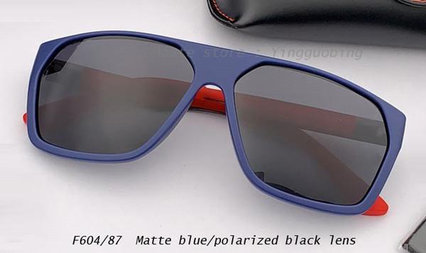 lente azul mate / negro polarizado