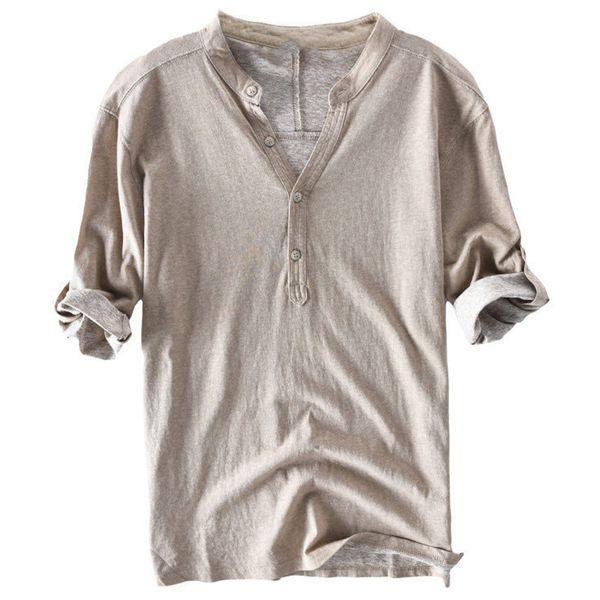 Avrupa Stil Erkek Gömlek Vintage Yaz Stil Erkek Elbise Gömlek İş Kıyafet Gömlek Giyim 3XL Erkek Gömlek Plus Size A489