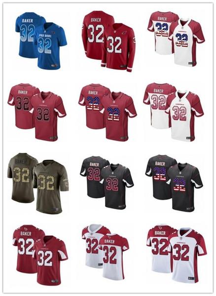 2019 encargo cualquier número Numa mejores hombres Jersey de rugby Arizona 32 Budda panadero Cardinal / MUJERES / fútbol de la juventud jerseys s-xxxxl