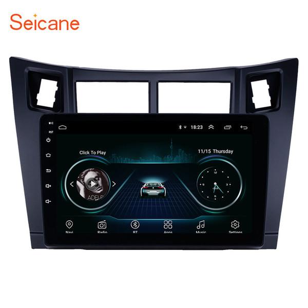 Autoradio touchscreen Android 8.1 da 9 pollici con autoradio per Toyota Radio Yaris Bluetooth 2013-2011 con supporto AUX WIFI OBD2