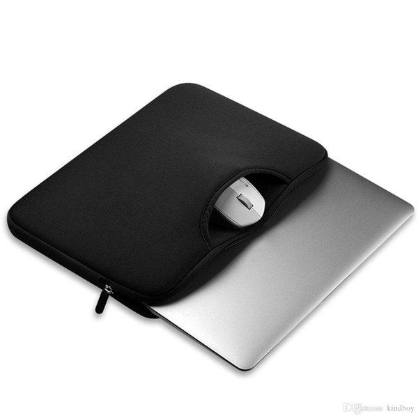 Renkli Yumuşak Laptop Kol 11 13 15 15.6 inç Laptop Çantası Macbook Hava 13 Pro Retina 15 Notebook Çantaları 12 14 DHL