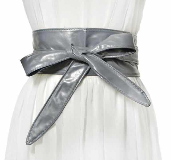 Inverno nuove donne coreane casual cinturino da cintura signore della moda semplice cintura decorativa fiocco 004