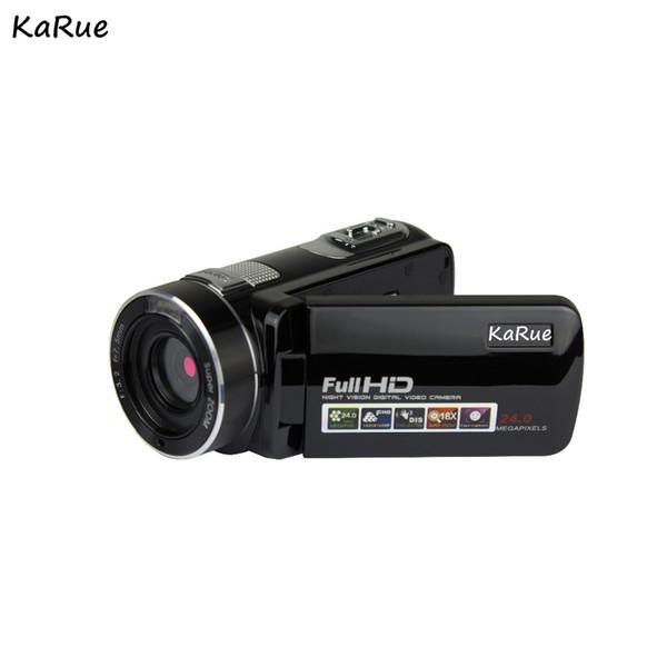 KaRue HDV-P7 Digital Video Camera DVR 720P 2.7 Inch Screen 16 times Digital Zoom 16MP 5MP CMOS Video Camcorder HD