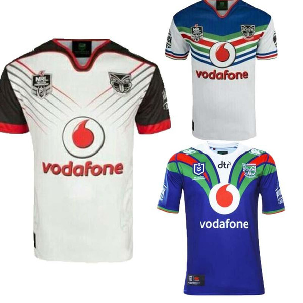 detailed look 4714e 3ba15 2019 Top Quality 2018 2019 Zealand Warriors Rugby Jerseys 18 19 NRL Home  And Away Warriors Shirts Australia National Rugby League Tops Size S 3XL  From ...