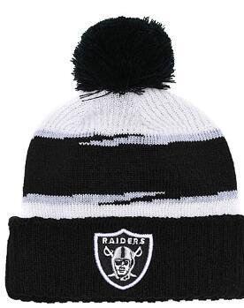 Discount Price Fashion Beanie Sideline Cold Weather Graphite Sport Knit Hat All Teams winter Oakland Knitted Wool Skull Cap snapback 00