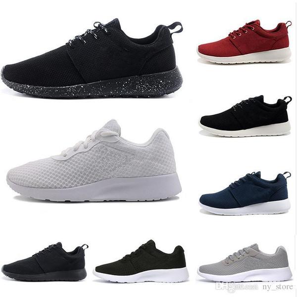 londres tanjun 3 Run Chaussures Triple noir blanc rouge Hommes Femmes Baskets Londres Olympic Runs Chaussure Hommes formateurs de sport chaussures de course 36-45