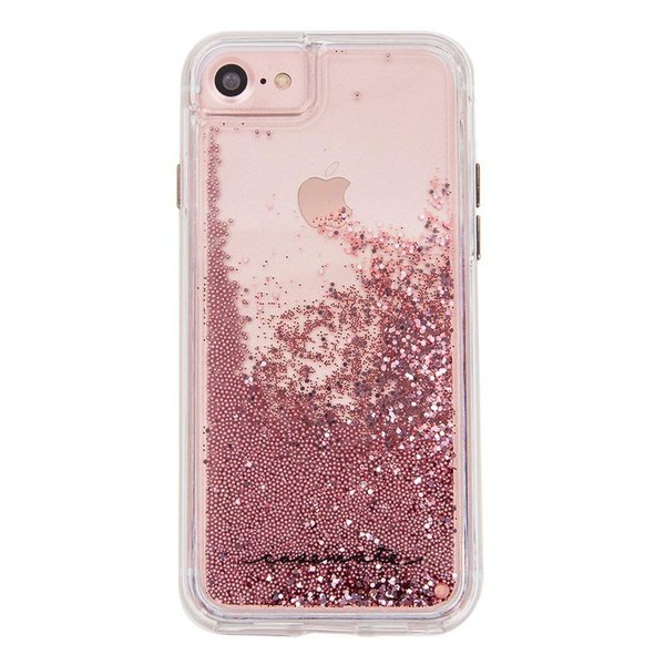 For Iphone 6/ 7/ 8 6plus/ 7plus/ 8plus X XR Xs Max Case Mate Water Glitter Bling Slim Protective Design