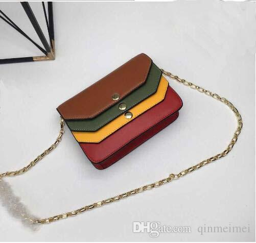 2017 new styles MUL 3365 branded fashion bags for women top quality chain wedding bag famous brand logo cross body shoulder bag 20*15*7 cm