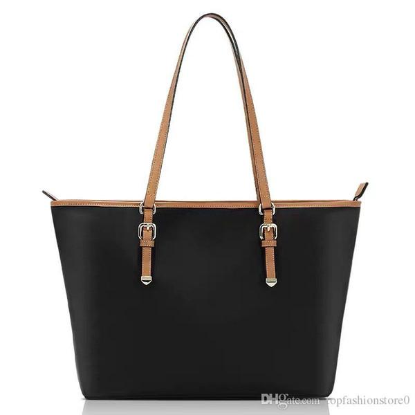 Women Classic Never Composite Bag Oxidizing Leather Damier Shopping Purse Full GM MM Plaid Print Handbag Tote Bag L302