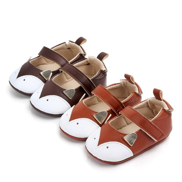 Fashion Fox Infant Toddler Newborn Girls Princess Mary Jane Bow Crib First Walker Ballet Dress Shoes For 0-18M Bbay Shoes