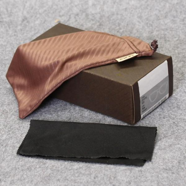 top popular HB glasses case brand sunglasses box sports brown glasses box and bag cloth manual free shipping MOQ=10pcs package 2021